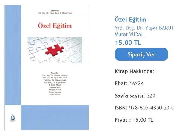 Cangi, E. (2011). Dil ve Konuşma Bozuklukları Olan Çocuklar. Barut, Y. (ed.), Özel Eğitim. İstanbul Lisans Yayıncılık.